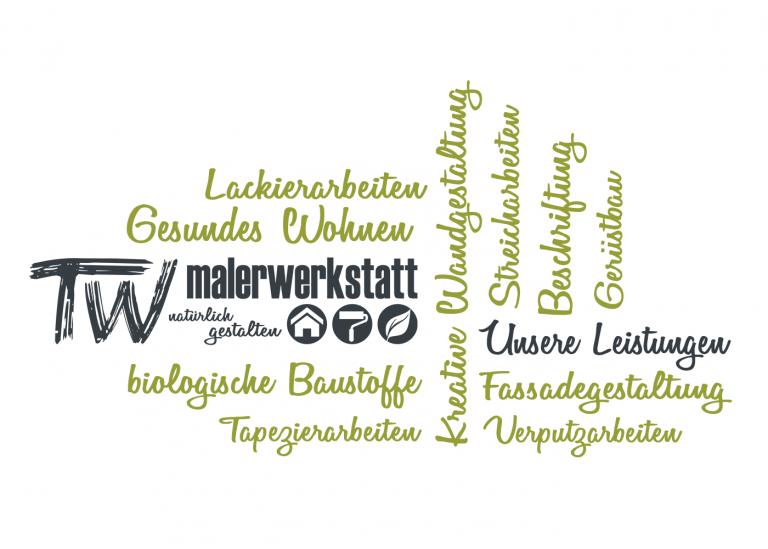Verputzarbeiten, Fassadengestaltung, Tapezierarbeiten ... Malerbetrieb Tobias Walter in Tübingen