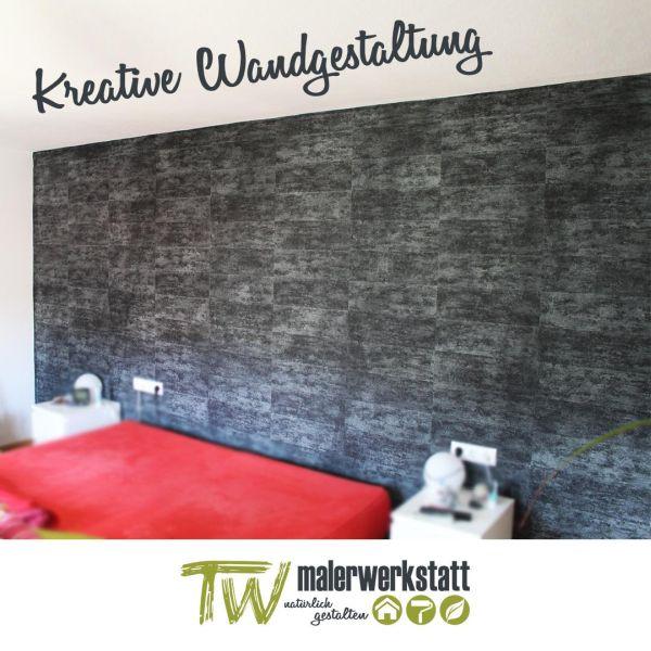 Kreative Wandgestaltung durch die tw malerwerkstatt in Rottenburg, Tübingen, Hechingen
