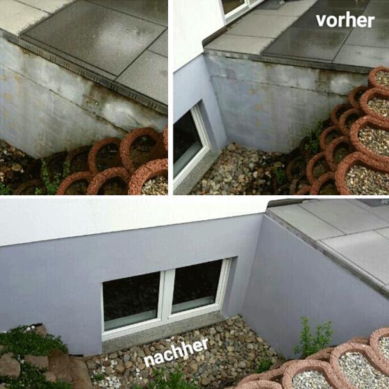 Keller Außenanstrich