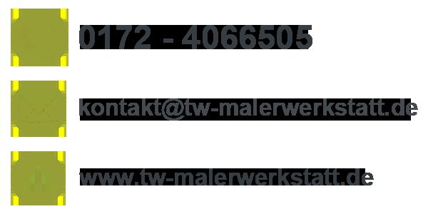 Malermeister Tobias Walter, Grosselfingen, Bisingen, Rottenburg, Hechingen, Balingen: Anschrift, Telefonnummer, Emailadresse