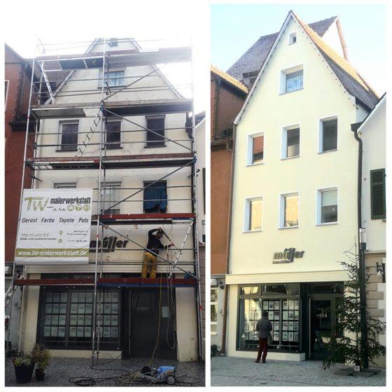01 Referenzen Renovierung Haus Fassade 2020 TW Malerwerkstatt Grosselfingen