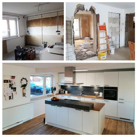 03 Referenzen Renovierung Haus Küche 2020 TW Malerwerkstatt Grosselfingen