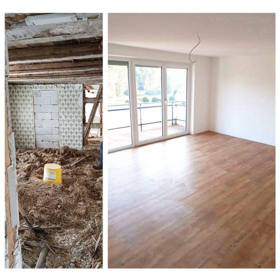 07 Referenzen Renovierung Haus Schlafzimmer 2020 TW Malerwerkstatt Grosselfingen