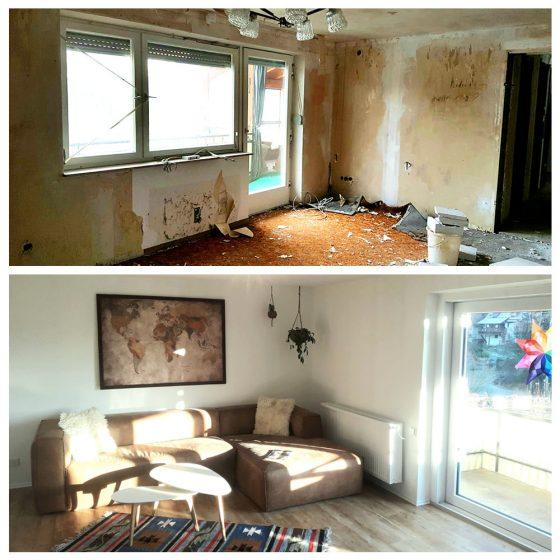 10 Referenzen Renovierung Haus Wohnzimmer 2020 TW Malerwerkstatt Grosselfingen