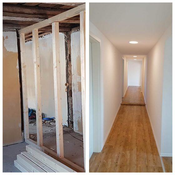 01 Referenzen Renovierung Haus Flur 2020 TW Malerwerkstatt Grosselfingen