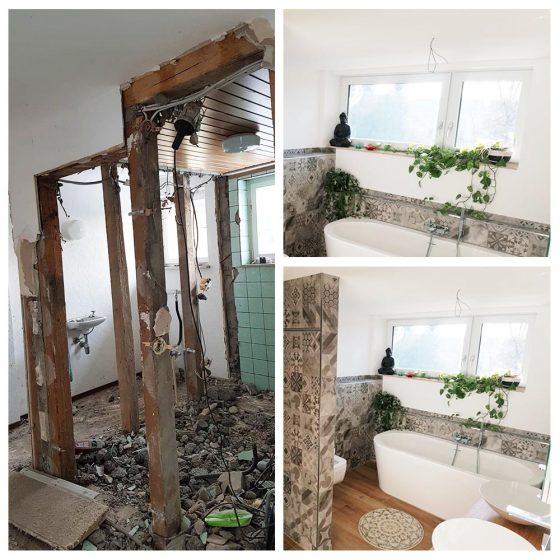 04 Referenzen Renovierung Haus Badezimmer 2020 TW Malerwerkstatt Grosselfingen